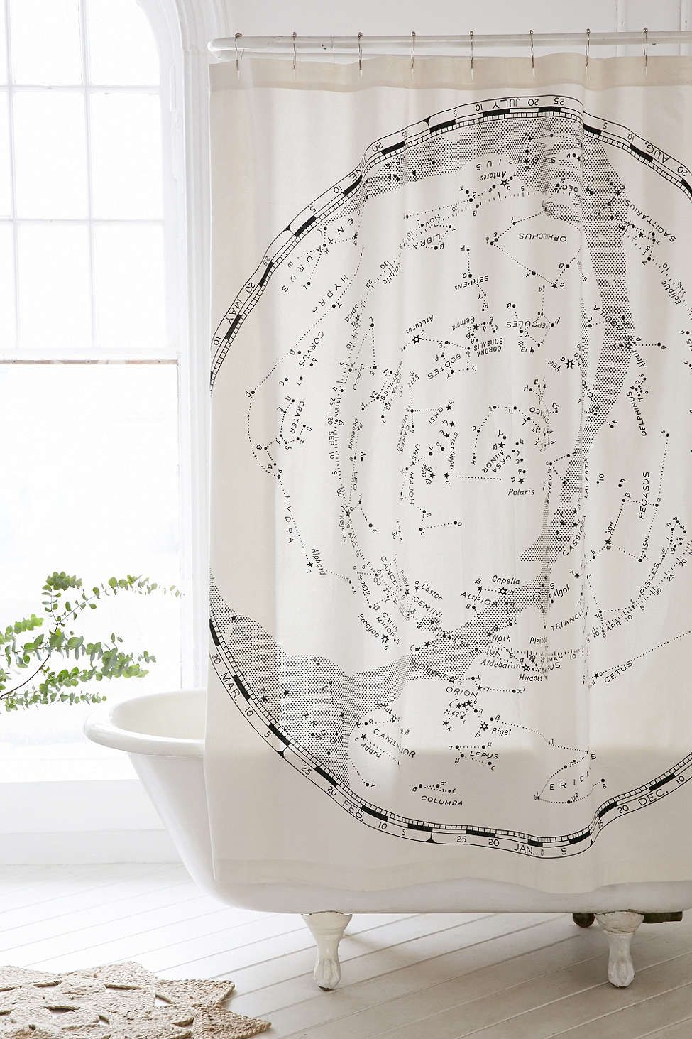A shower curtain of the cosmos. That would be so amazing to look at ...