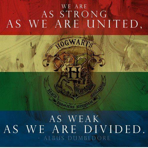Harry Potter Quote Albus Dumbledore Hogwarts Zitate Aus