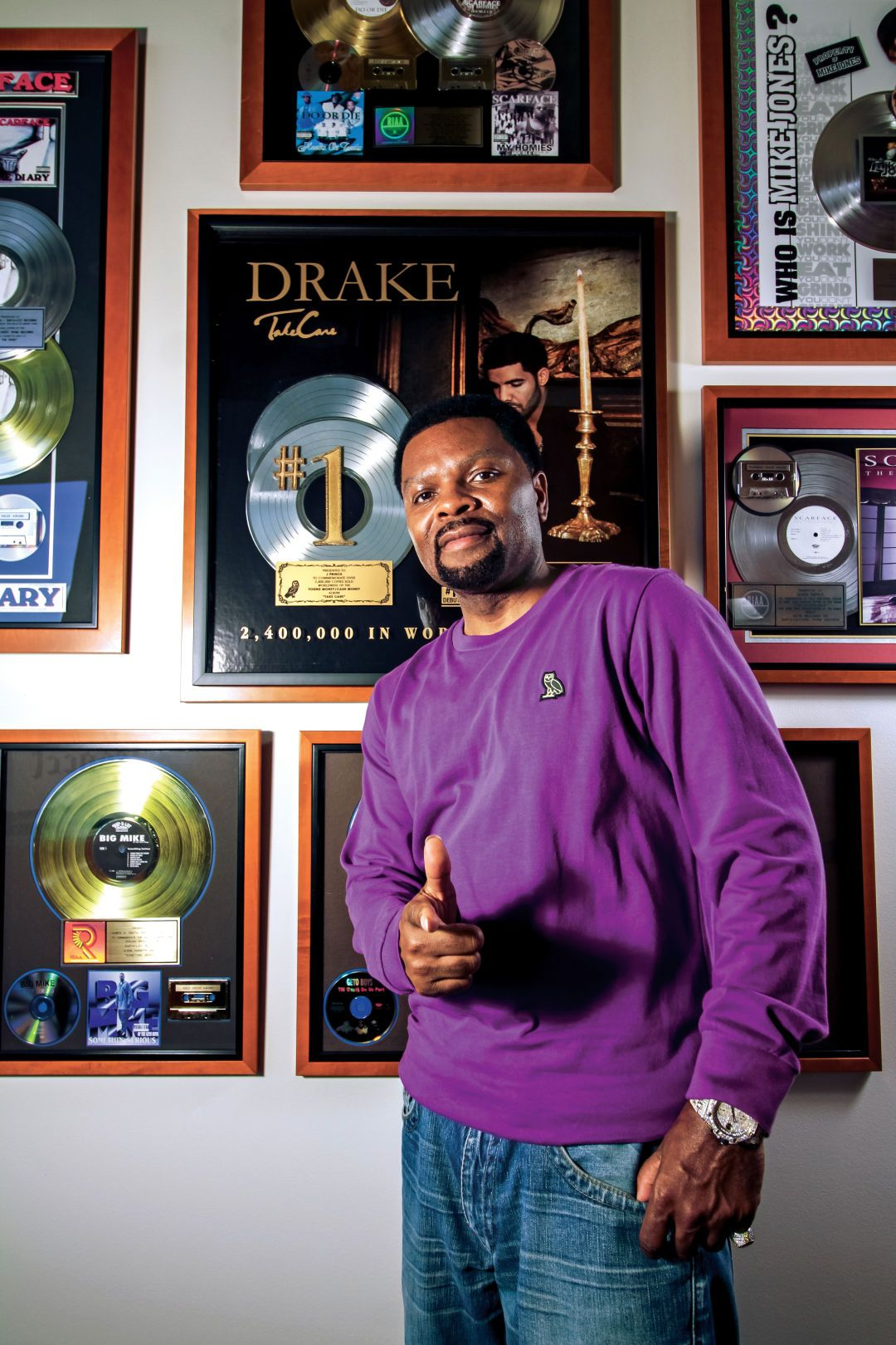 J Prince Chef jackets, Style, Hip hop