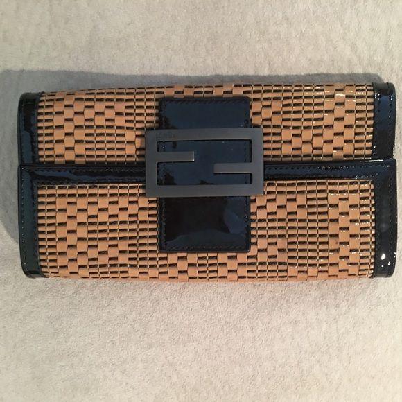 Fendi Woven Wallet