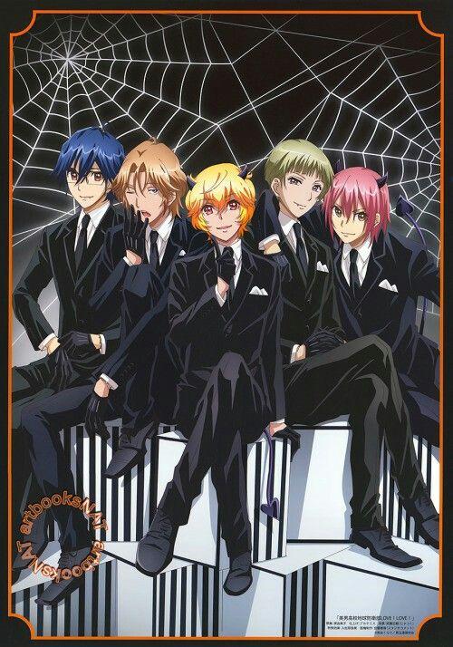 Cute High Earth Defense Club LOVE! LOVE!  The main guys ofBinan Koukou Chikyuu Bouei-bu LOVE!