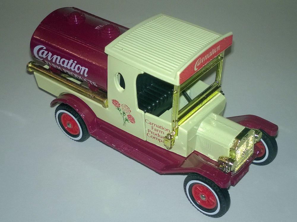 Matchbox Models Of Yesteryear Y 3 Ford Model T Tanker Carnation