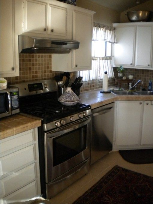 Manufactured home decorating ideas modern cottage style for Mobile home kitchen remodeling ideas