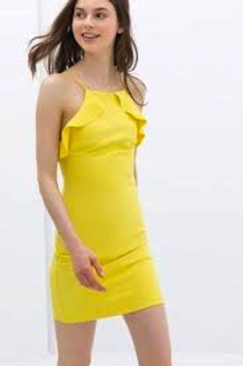 a7e3d2d7 zara ruffle dress - Google Search | F A S H I O N . | Dresses, Tube ...