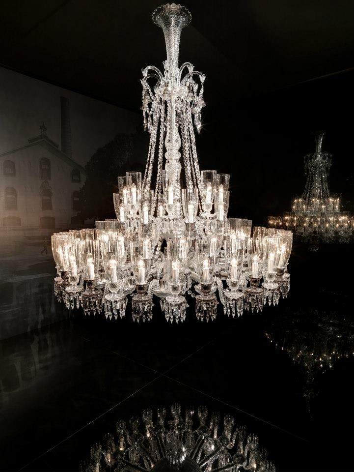 Nervous Zenith By Louise Campbell Photo By Yves Duronsoy Courtesy Of Baccarat Highlights Baccarat Chandelier Simple Chandelier Chandelier