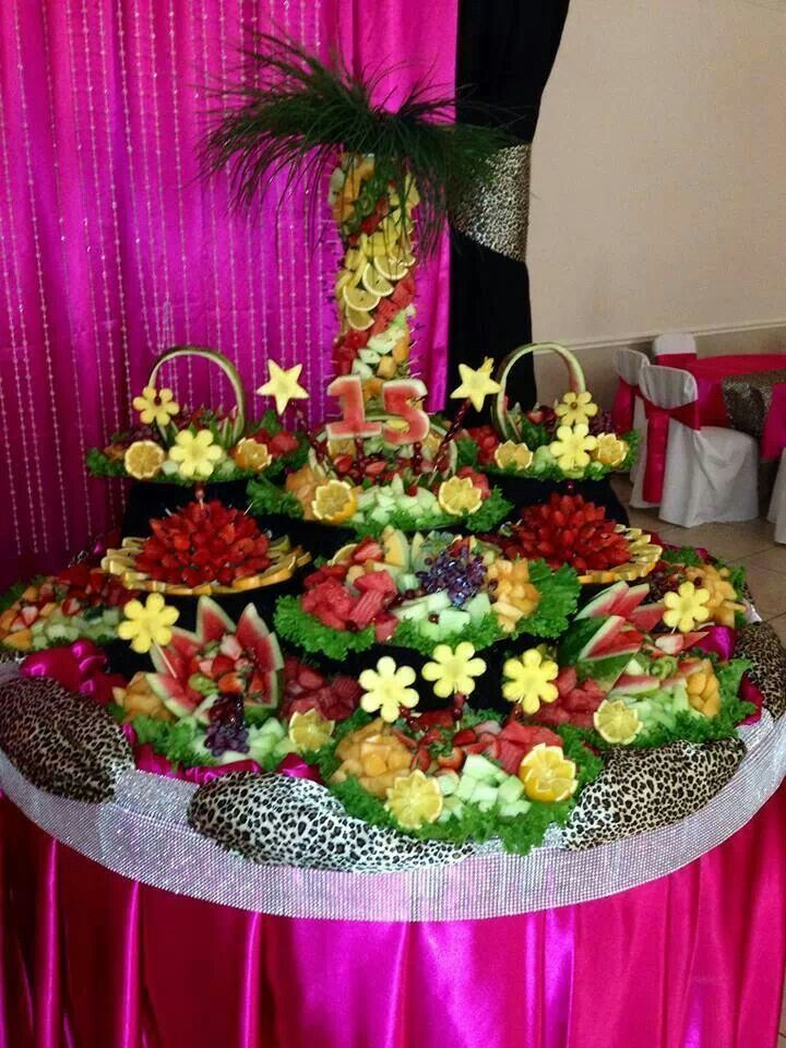 Captivating Catering Ideas · Pretty Fruit Displays | Beautiful Fruit Table