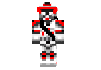 How to install Red Clone Commander Skin for Minecraft ...
