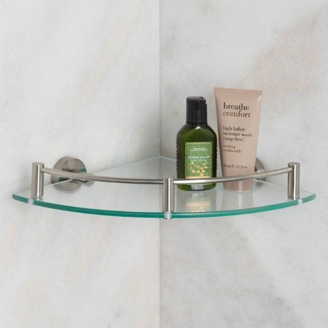 Bathroom Glass Shelves For Adorable Bathroom Bathroom Pinterest