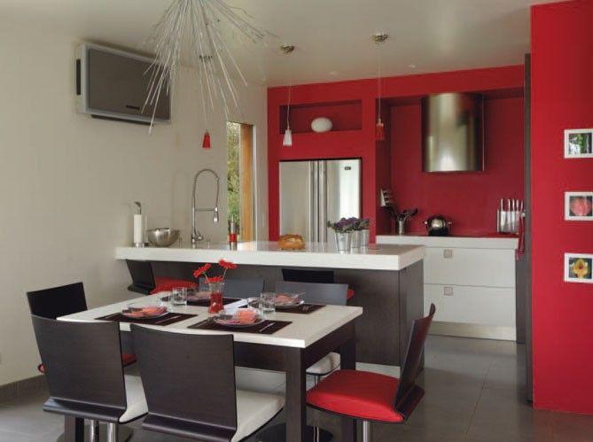 Organisation petite cuisines recherche google - Cuisine moderne ouverte sur salon ...