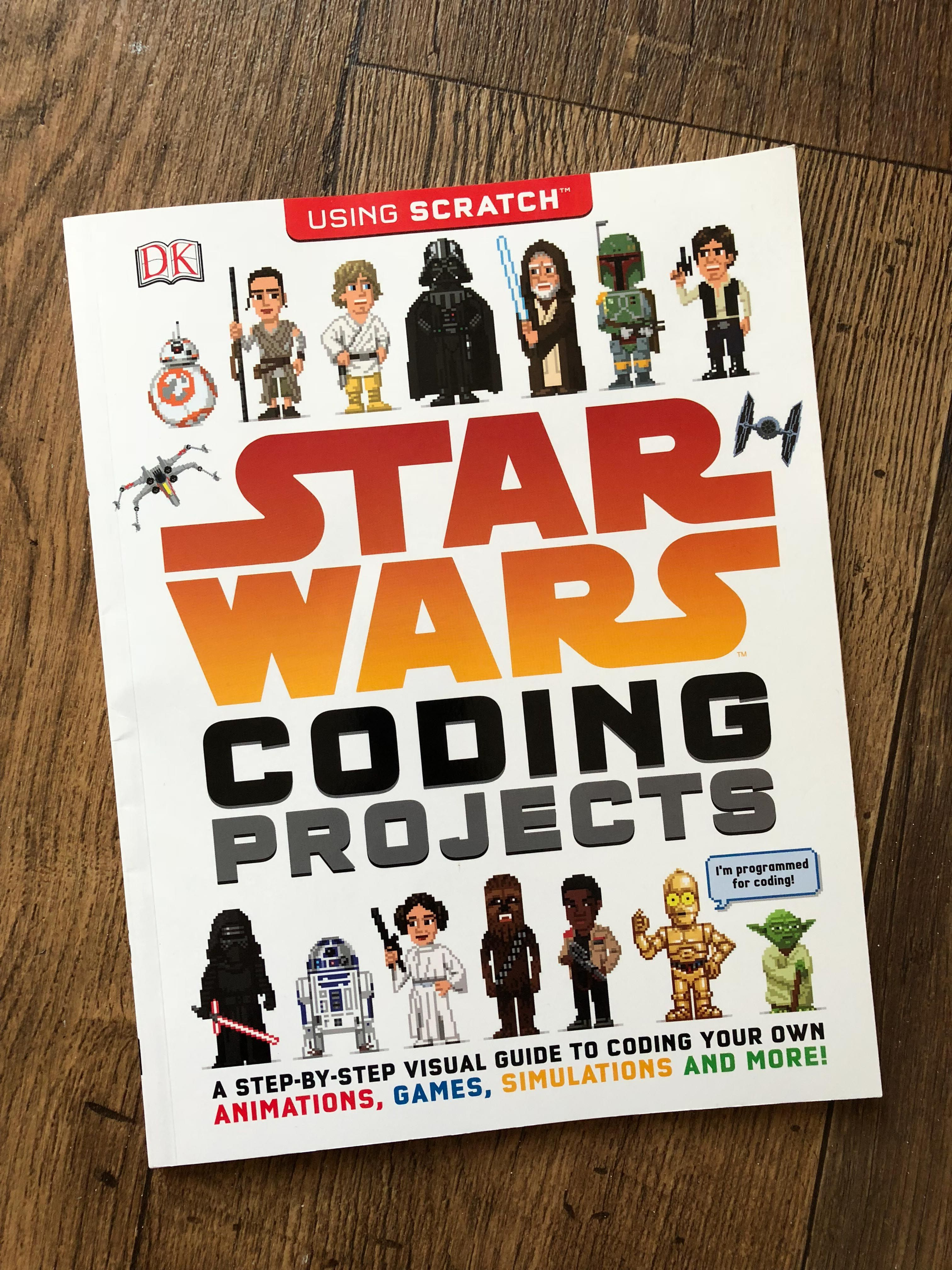 Star Wars Coding Projects {book review} | info | Coding
