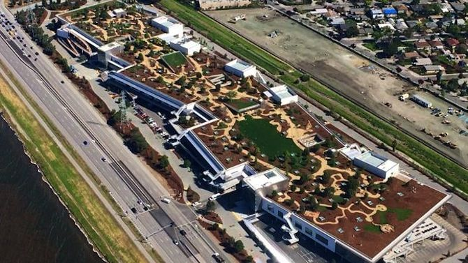 Facebook Headquarters Building 20, Menlo Park, California, United States - Frank Owen Gehry