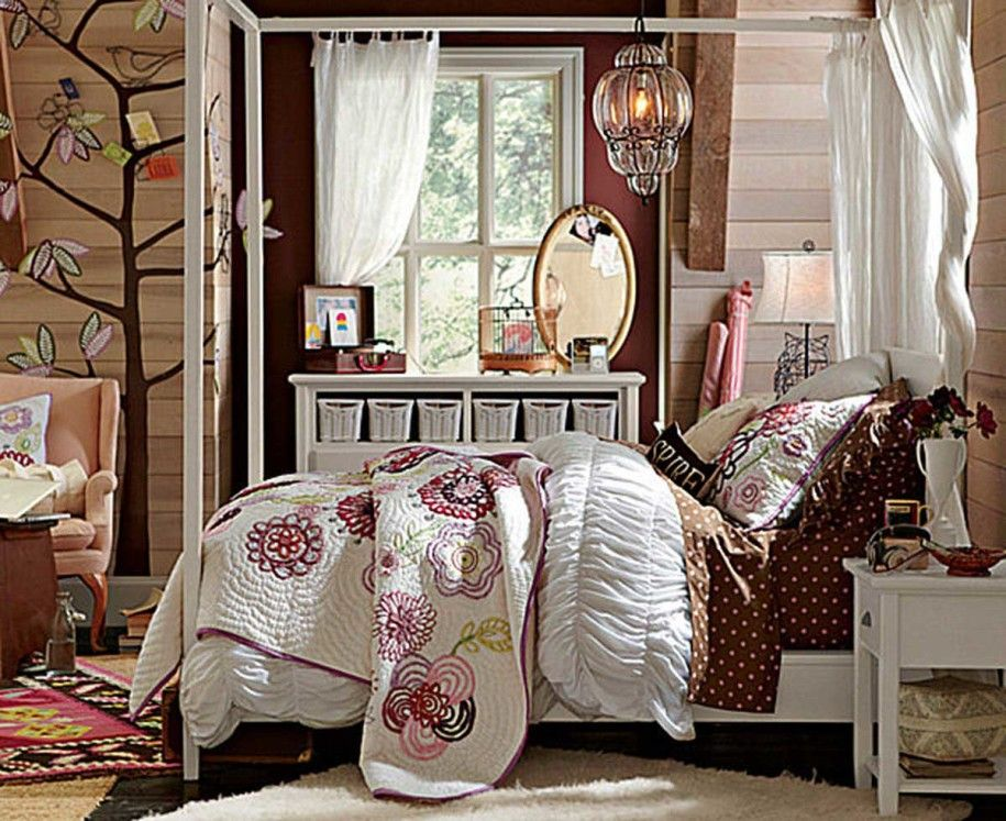 Modern Bedroom Ideas For Todayu0027s Teenage Girl : Rustic Teen Bedroom  Decoration