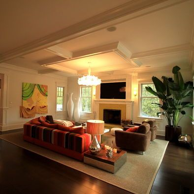 Great room divider Home - Architectural Design, Molding, Flooring