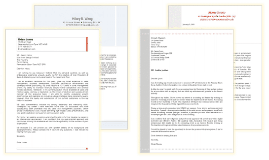 open office cover letter templates