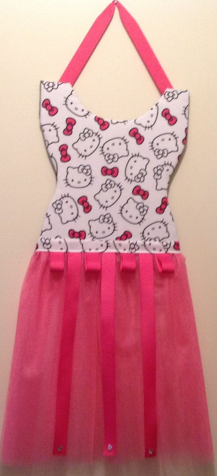 Hello kitty hair bow holder these sold really well this year i