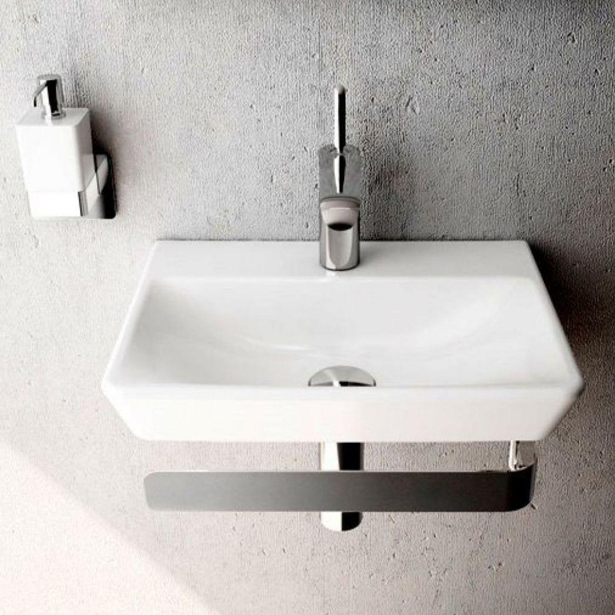 Vitra T4 Cloakroom Basin - 450mm | Cloakroom basin, Vitra ...