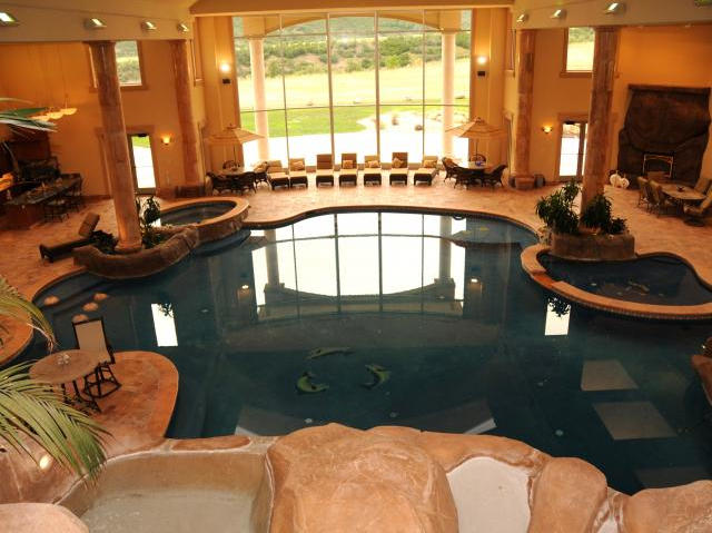 Businessman s 50 000 square foot utah mega mansion on the for 50000 pool design