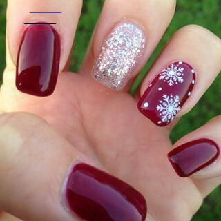 Коледни Коледни in 2020  simple nail art designs nail