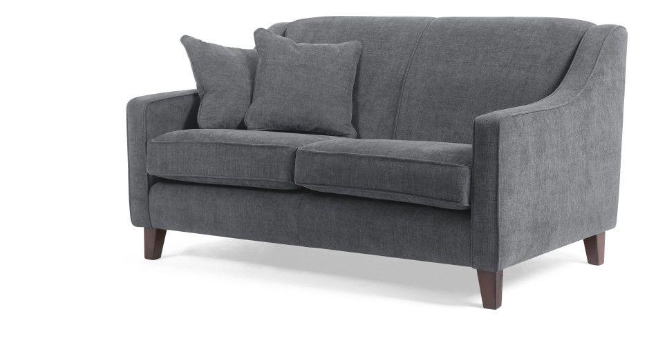 Halston 2 Sitzer Sofa In Dammerungsgrau Made Com Mit Bildern 2 Sitzer Sofa Sofa Design Kleines Sofa