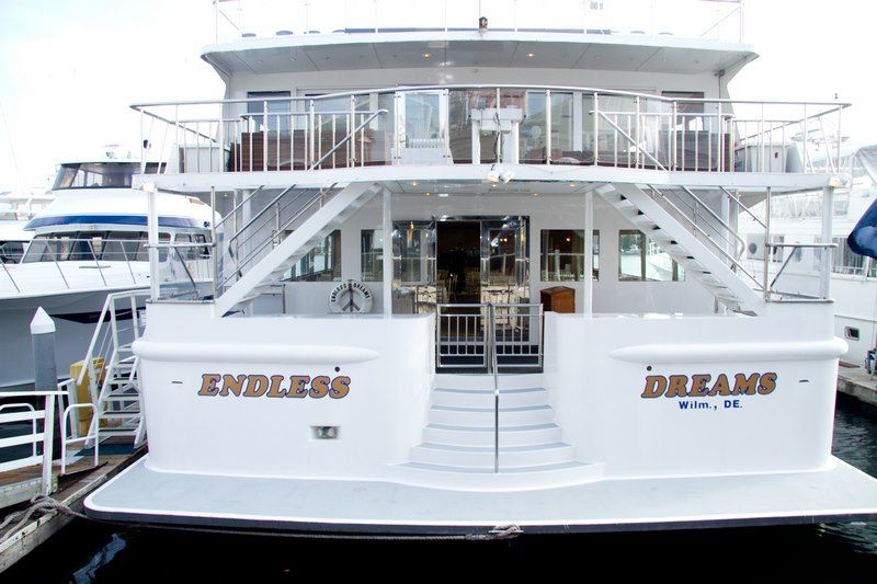 Get Married Aboard The Gorgeous Yacht Endless Dreams Newport Beach Ca
