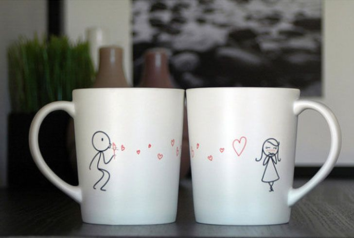 his and hers coffee mugs funny