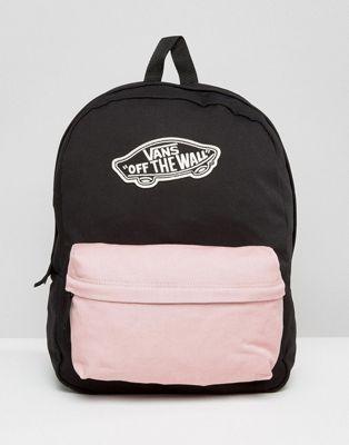 afa7619985 Vans Contrast Pocket Realm Backpack in 2019 | -fashion- | Backpacks ...
