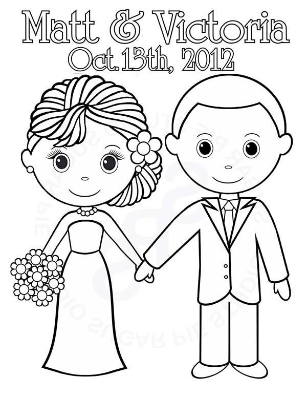 We Are Getting Married Today Its Our Wedding Day Coloring Page Wedding Coloring Pages Free Wedding Printables Personalized Coloring Book