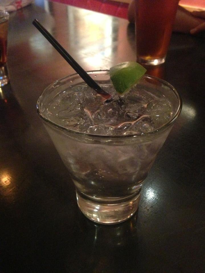 American gin tonic