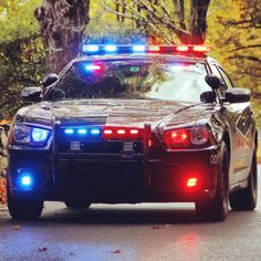 Police Car With Full Array Of Lights Art Print Home Decor Wall Art Poster E Poster Wall Art Wall Art Home Decor Wall Art