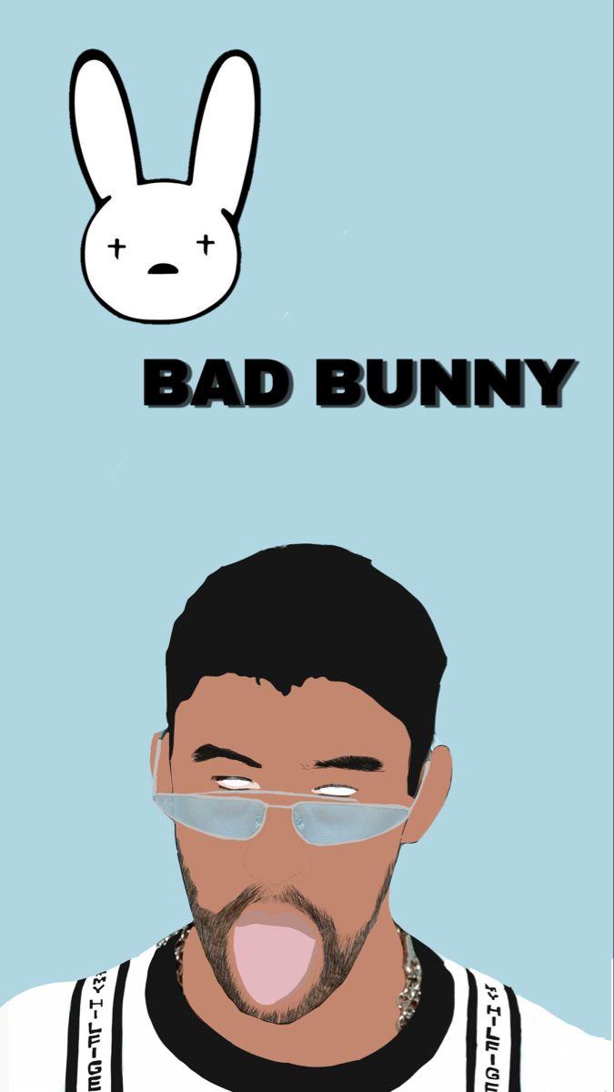 Bad Bunny Wallpaper Bunny Wallpaper Bunny Drawing Bunny Pictures