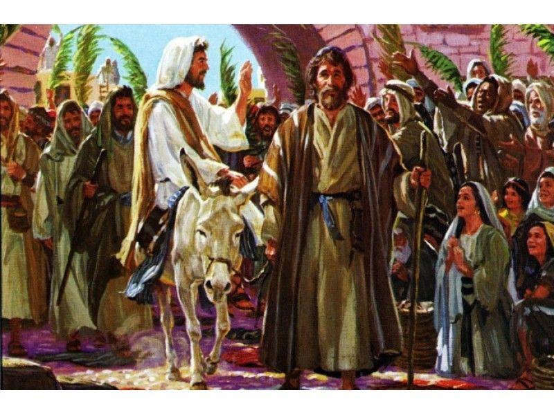 A Disciple on Palm Sunday Palm sunday, Christian