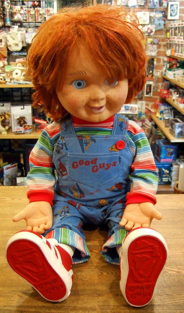 childs play 2 good guy chucky lifesize 11 doll no box