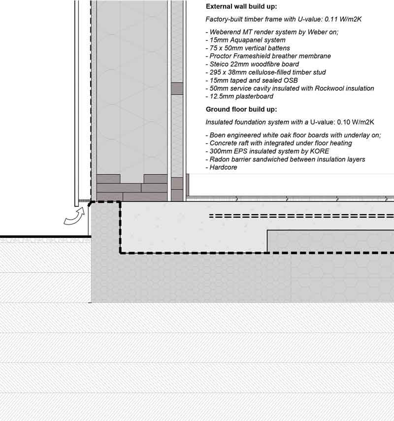 Steeply Sustainable Low Carbon Passive Design Triumph On Impossible Cork Site Passivehouseplus Ie In 2020