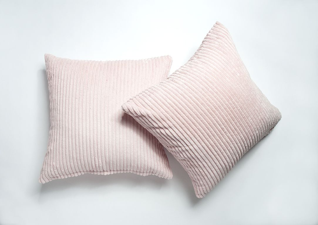 Shop home decor chevron stripes pillow from shop home decor - A Pair Of Baby Pink Cushion Covers Link To Shop In Bio