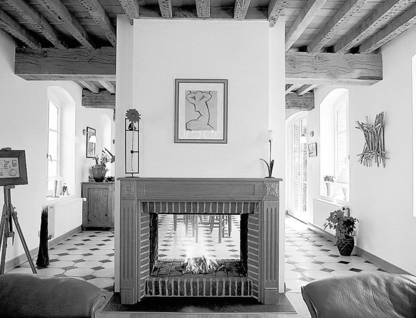 chemin e traversante casanearshore casablanca rent a superb furnished architect villa. Black Bedroom Furniture Sets. Home Design Ideas