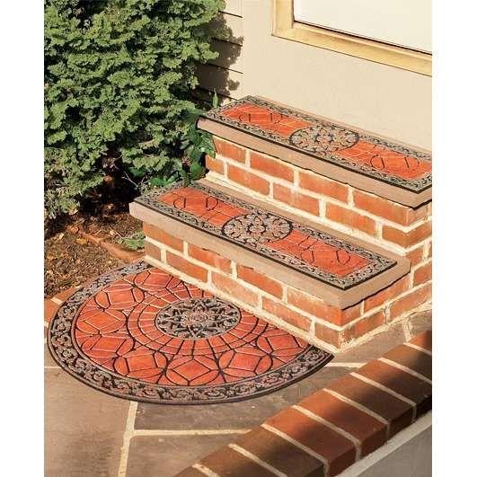 Decorative Outdoor Stair Treads | Fresh Finds Freshest Finds Gothic Stair  Tread U0026 Door Mat