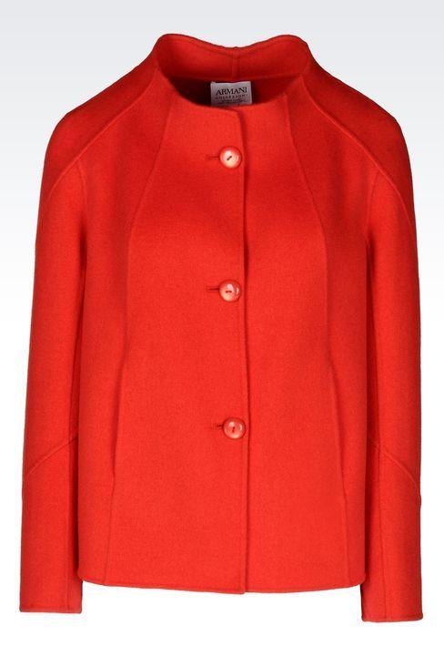 88c58db5cdcc Armani Collezioni Women, Wool - Armani.com | Coats | Jackets, Women ...