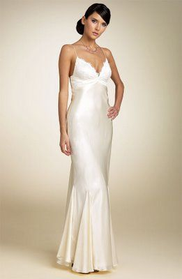 BRIDE CHIC: THE BIAS CUT GOWN | Dresses | Pinterest | Gowns