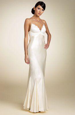 Bride Chic The Bias Cut Gown