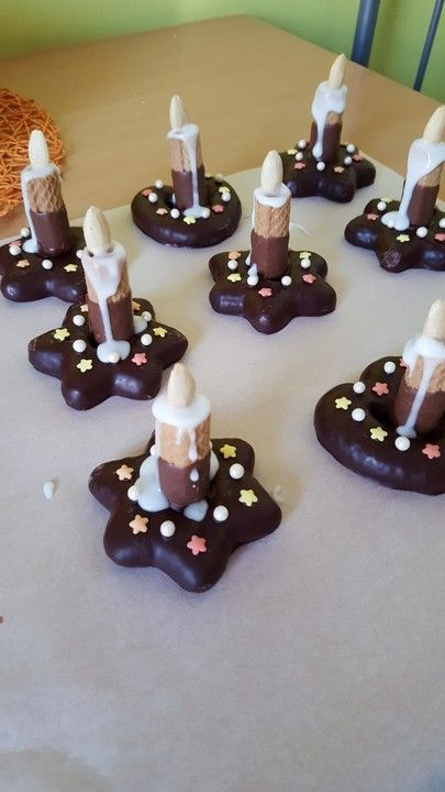 Photo of Lebkuchen – Kerze von taliafee | Chefkoch