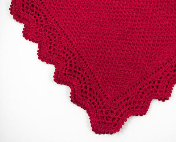 Maglia bambino coperta coperta di lana Merino di SasasHandcrafts