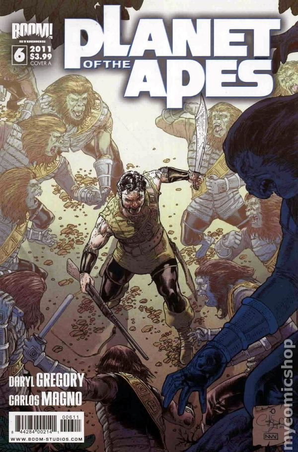 Planet of the Apes (2011 Boom Studios) 6A