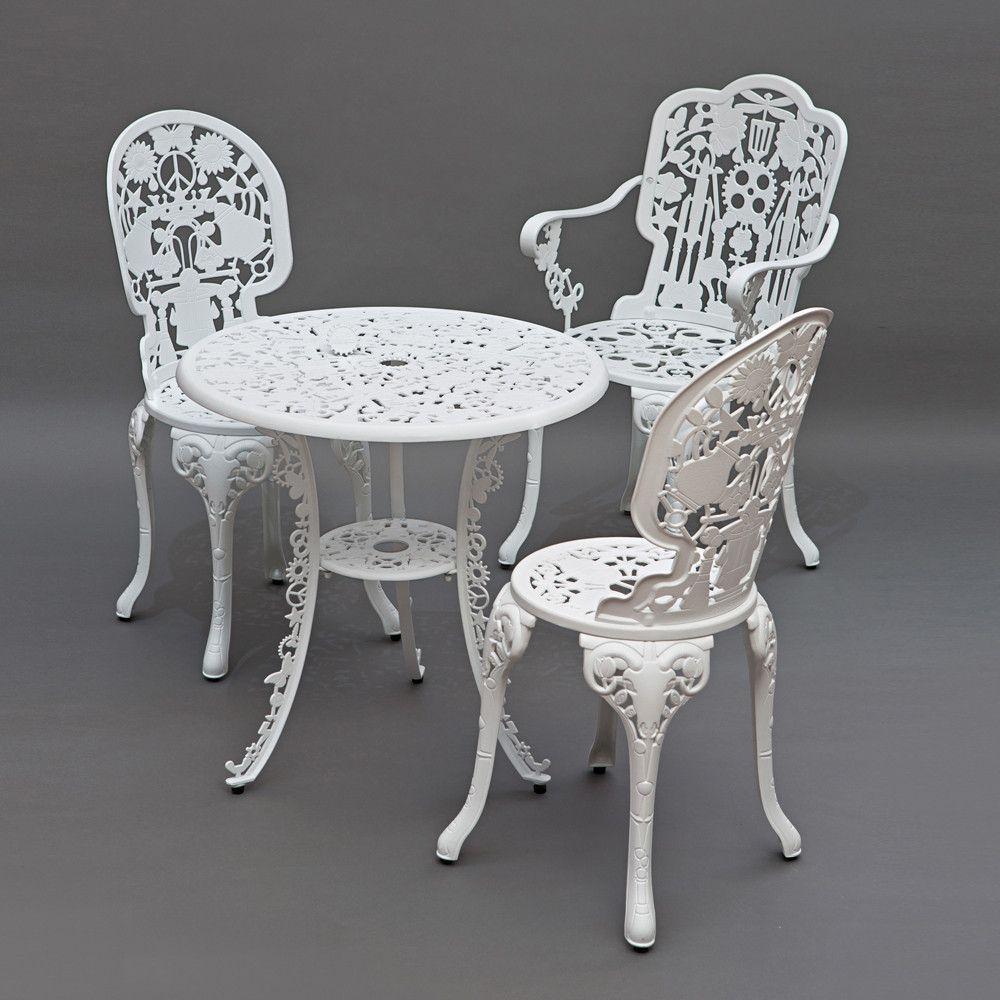 Modern Italian Garden Design: Seletti - Industry Garden Armchair - White
