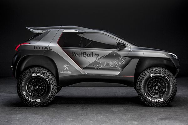 Peugeot 2008 DKR #Dakar2015 RedBull-ized ;)