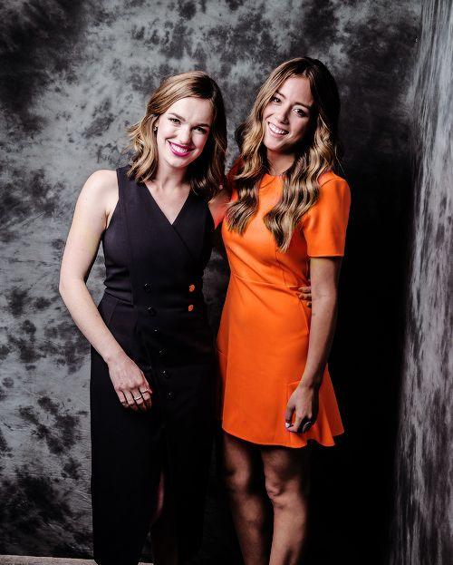 Elizabeth Henstridge & Chloe Bennet