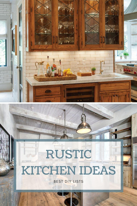 Rustic Kitchen Design Ideas Kitchen Design Rustic Kitchen Kitchen Decor Rustic kitchen decorating ideas