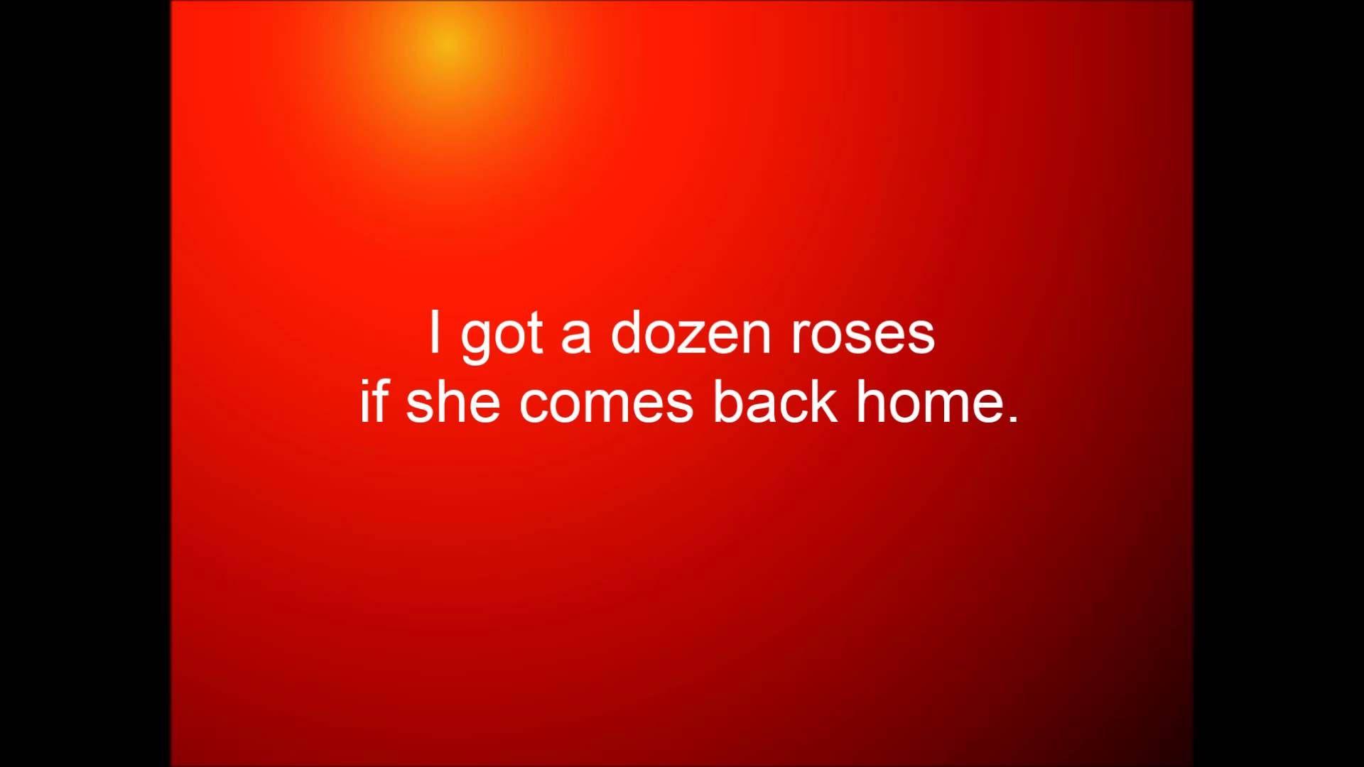 Cole Swindell A Dozen Roses Six Pack