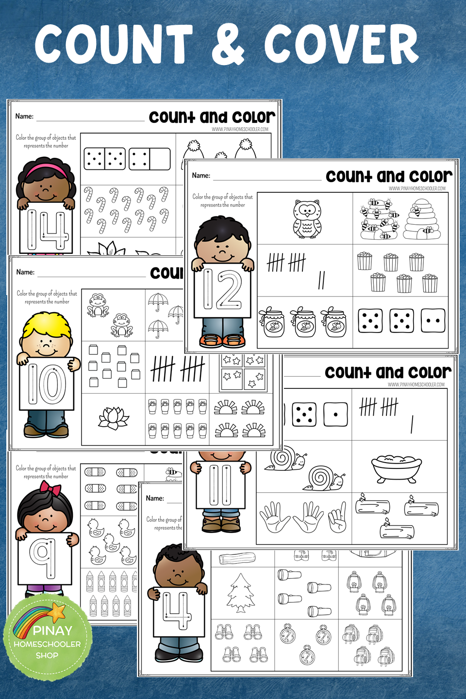 Practice Counting With This Count And Color Learning Pack Contains 20 Activity Sheets For Countin Preschool Worksheets Learning Activities Learning Worksheets [ 1440 x 960 Pixel ]