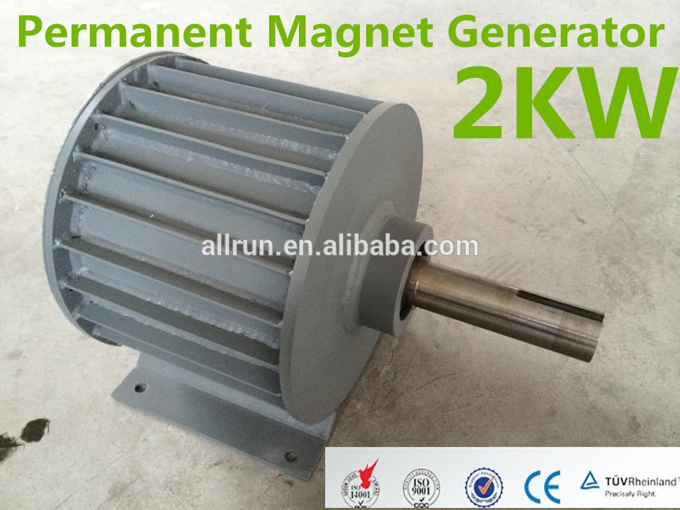Hot Sale Low Rpm High Efficiency 2kw 3kw 5kw 10kw Low Speed Vawt Wind Generator Photo Detailed Ab Permanent Magnet Generator Wind Generator Permanent Magnet