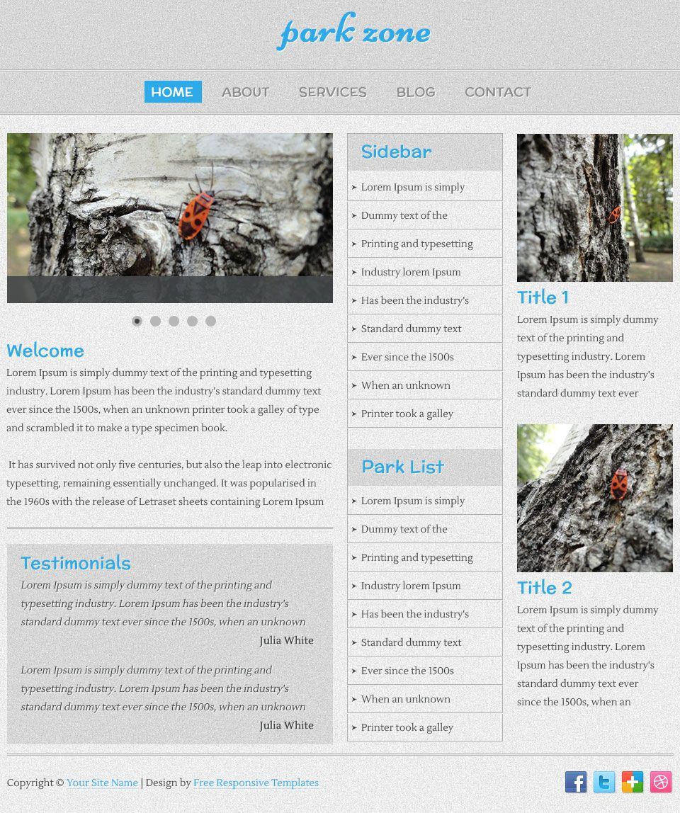 Pin By Responsive Templates On Free Responsive Templates